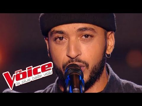 The Voice 2016 | Slimane - A Fleur de Toi (Vitaa) | Blind Audition