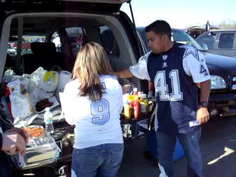 Dallas Cowboys Playoff Game Tailgating