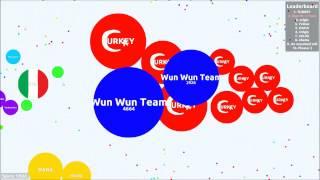 Agar.io - How easy is teaming?