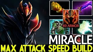 Miracle- [Dragon Knight] 49 Armor Max Attack Speed Imba Raid Boss 7.21 Dota 2