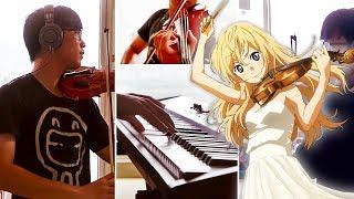 【四月は君の嘘】光るなら Your Lie in April - Piano & Violin Cover