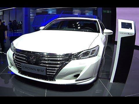 New 2016, 2017 Toyota Crown biggest luxury sedan is Ready for car market