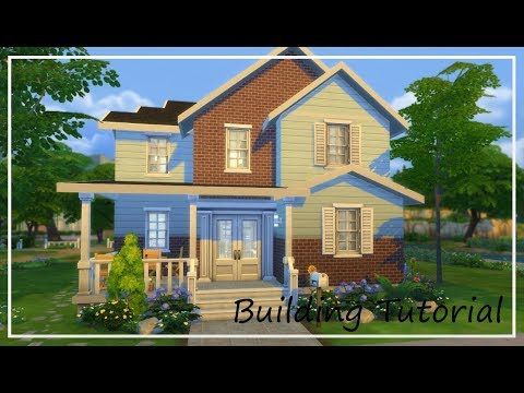 Building Tutorial Pt. 4 - Entryways and Bathrooms // The Sims 4 Build Series