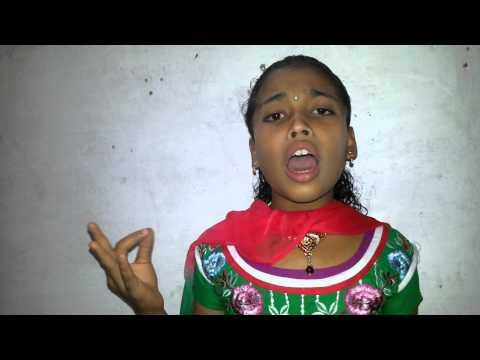 Singer Devika Rajeevan : Kavitha (rathri Mazha) Poem...... video