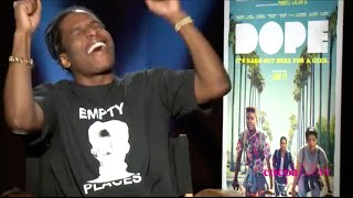 A$AP ROCKY Talks Sexy Women, Tupac Comparisons & D