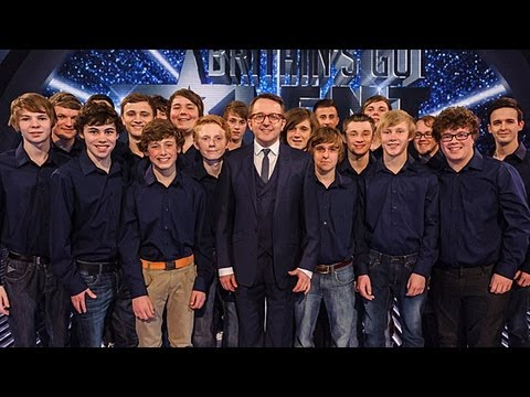 Only Boys Aloud Welsh choir - Britain