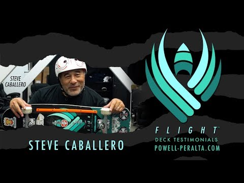 Steve Caballero - Powell Peralta Flight Deck Construction