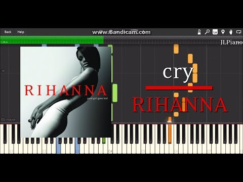 Cry - Rihanna (Synthesia Piano & Vocal Cover)