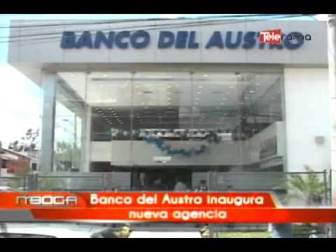 Banco del Austro inaugura nueva agencia