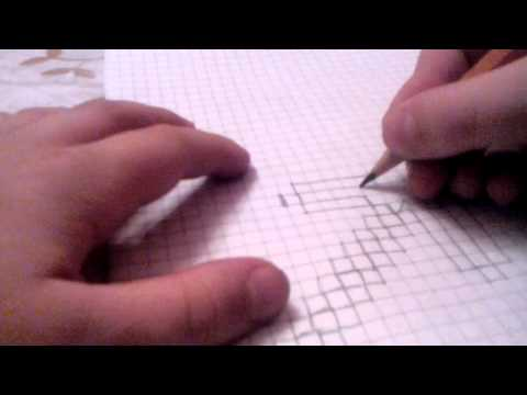 Видео как нарисовать кирку из Майнкрафта