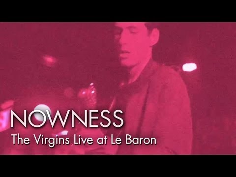 NOWNESS.com presents:  The Virgins Live at Le Baron by Ryan McGinley