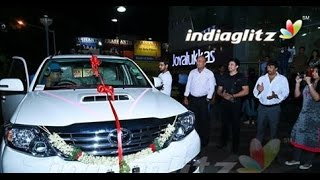 Prasanth gifts Toyota Fortuner to Thaman | Saahasam Movie Songs | Hot CInema News