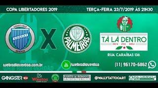 AO VIVO Godoy Cruz x Palmeiras Copa Libertadores 2019 T L Dentro Transmisso