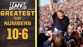 100 Greatest Teams: Numbers 10-6 | NFL 100