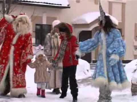 Дед Мороз в гостях у Софии. Новый год 2011.