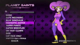 Saints Row 3 Has A Lot of Outfits