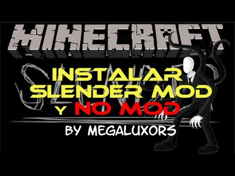 Descargar e Instalar Slender Mod /NO Mod Minecraft 1.5.1 !!! [FUNCIONANDO 20/04]