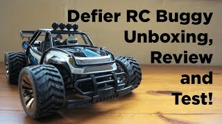 Defier RC car Unboxing, Review and Test!