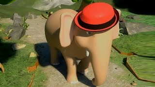 Ek Mota Hathi Hindi Balgeet | Poems In Hindi | एक मोटा हाथी | Kids Tv India | Hindi Nursery Rhymes