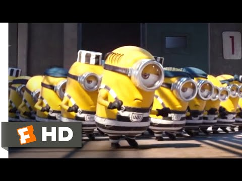 Despicable Me 3 (2017) - Minions In Jail Scene (6/10)   Movieclips
