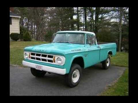 Dodge Sweptline Trucks Youtube