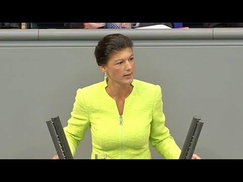 Sahra Wagenknecht, DIE LINKE: »Sie machen die Autobahn zur Melk-Kuh für private Profite«