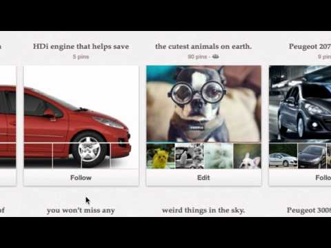 Peugeot s Pinterest Car Showcase