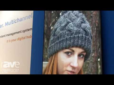 ISE 2017: Voome Networks Adds Voome Jade Digital Signage Software