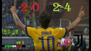 La Rimonta più Bella della Juventus ⚽ Genoa Vs Juventus 2-4 ⚽ HD 1080i #Juventus