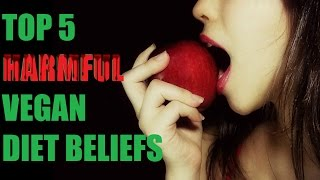 TOP 5 COMMON BUT HARMFUL VEGAN DIET BELIEFS (Stop Following These!!) - Cory McCarthy -