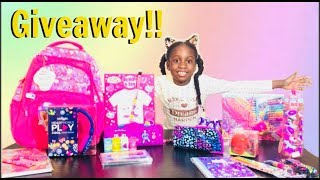 HUGE GIVEAWAY!! INTERNATIONAL 2018(CLOSED)| SMIGGLES BACK TO SCHOOL SUPPLIES + MORE