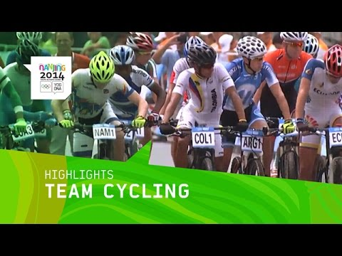 Men's And Women's Mountain Bike Cycling - Highlights | Nanjing 2014 Youth Olympic Games