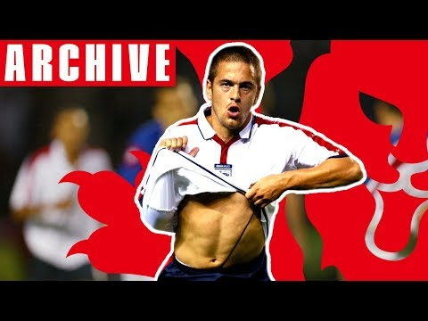 Joe Cole's astonishing free kick v Serbia | From The Archive