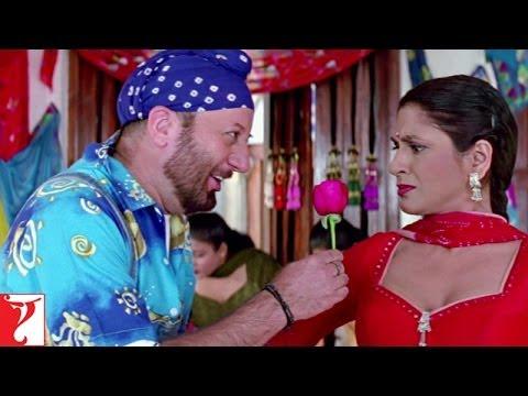 Kakeji's Rose Day - Comedy Scene - Mohabbatein