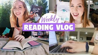 Reading 5 Books and Finishing My Novel Outline! | Weekly Reading and Writing Vlog July 9-13