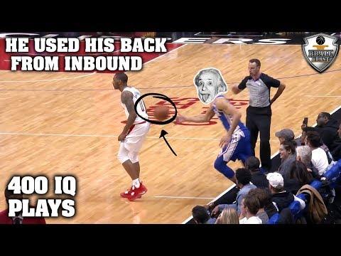 """NBA """"400 IQ PLAYS"""" Moments"""