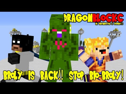 Dragon Block C W  Xrpmx13 - Bio Broly?! Legendary Super Saiyan Returns (dbz Minecraft) video