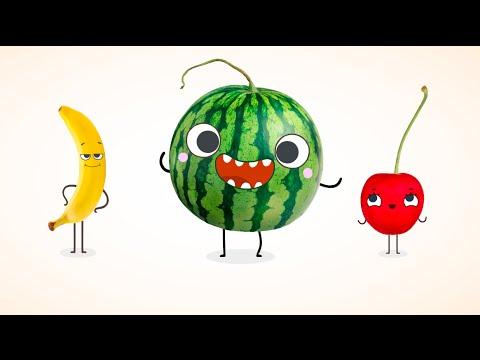 Познавательные обучающие мультфильмы - Викторина для детей - Умная тарелка - Серия 9