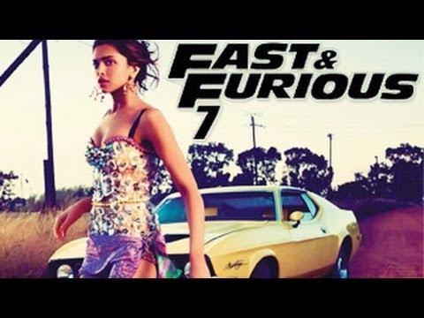 Deepika Padukone FAST & FURIOUS 7 First Look