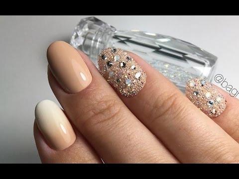 Фото дизайн ногтей кристаллами сваровски