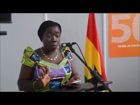 Ghana's Tourism Minister addresses the Press  at ITB Berlin 2016