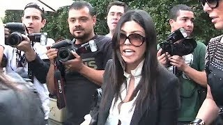Watch As Kourtney Kardashian Completely LOSES IT On Photographers! [2010]