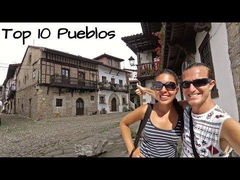 Top 5 PUEBLOS más Bonitos que ver en CANTABRIA (4K) | España