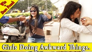 Making Girls Fool with Magic Trick - Win or Dare Prank Ep #1 - Girls Doing Awkward Things | THF