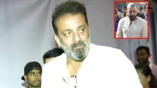 Sanjay Dutt Spills The Beans On Comeback Film Bhoomi In Front Of Media