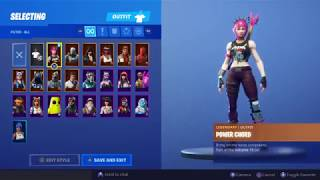 Buying the power cord skin on Fortnite battle royal / the best legendary skin on the items shop