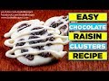 Easy White Chocolate Raisin Clusters Recipe