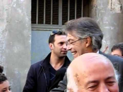 Arrivo di Massimo Moratti a Venosa (PZ) ...Signori si nasce!!!