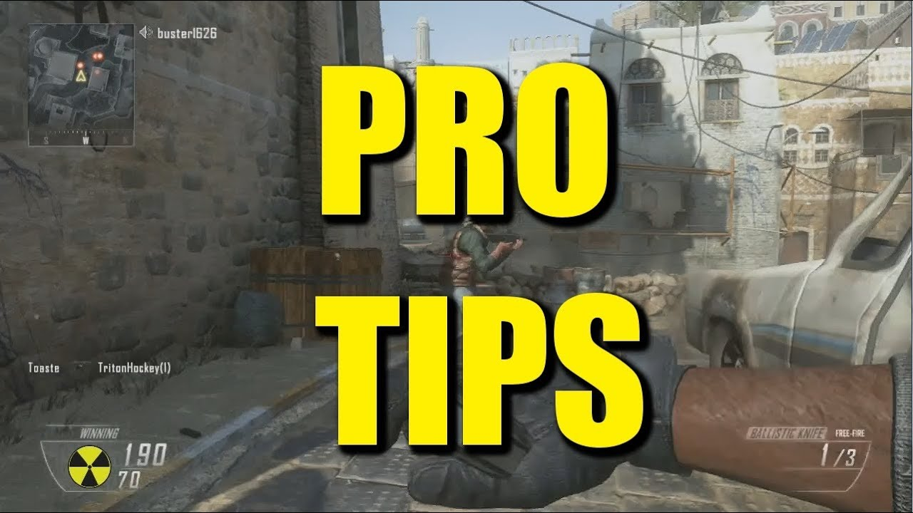Ballistic Knife Black Ops How to Black Ops 2 How Not to Use