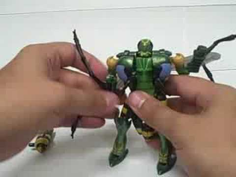 Beast Wars 10th Anniversary Waspinator Review